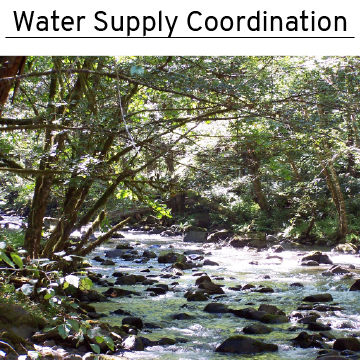 water supply coordination