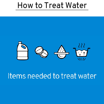 how to treat water for emergencies