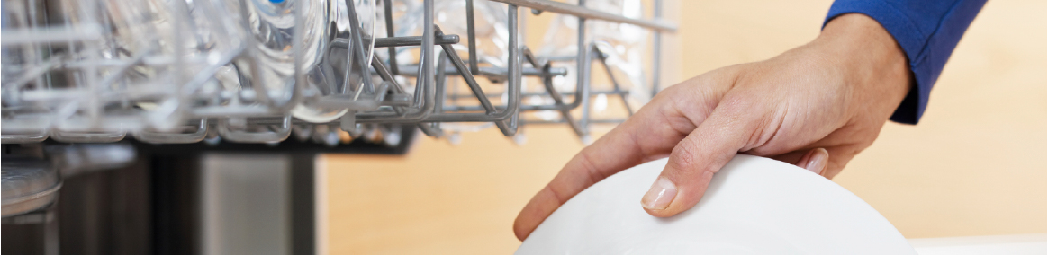 Let your dishwasher do the work